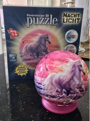 3D Puzzle mit Nachtlicht