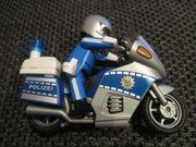 Playmobil Polizeimotorrad mit Blaulicht 4261