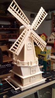Futterhaus als Windmühle