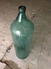 Sehr große Glasflasche zur Deko