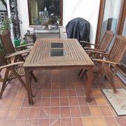 Teakholz-Gartenmöbel