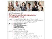 Bauspar- und Finanzierungsfachmann in Baden-Baden