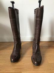 Damen-Stiefel aus Antikleder zu verkaufen