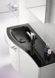 Handwaschbecken Glas