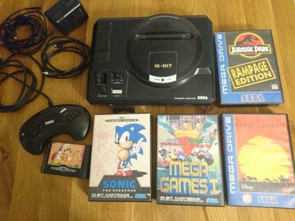 Sega Mega Drive Set mit