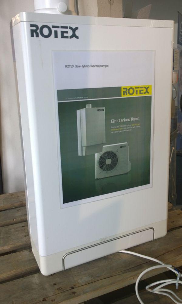 ROTEX Gas-hybrid-Wärmepumpe HPU hybrid Brennwertgerät