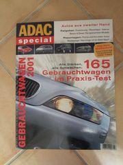 Autobuch Autozeitschrift ADAC spezial Gebrauchtwagen