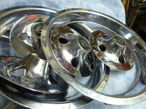Opel Manta od Kadett Felgen