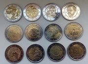 2 Euro Sondernmünzen 2004-2019 II