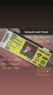 1x Xavier Naidoo Ticket Stuttgart