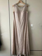 Abendkleid rosa Glitzer