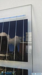 Sonnenstromfabrik 290W transparent rahmenlos Doppel