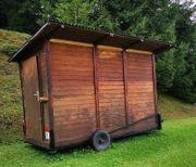 Verkaufsstand Punschhütte Fischerhütte