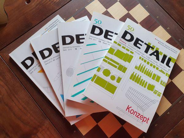 Verkaufe 48 Detail Magazine und