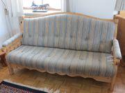 Landhausstil Sofa u Hocker --