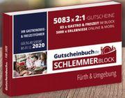 Gutscheinbuch Schlemmerblock Fürth Umgebung 2020