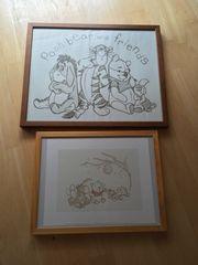 Winnie Pooh Bild Bilderrahmen Kinder