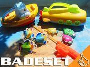 Große Bade-Plansch-Spielzeugsammlung fördert Spielspaß Motorik