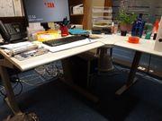 Schreibtisch Kombination Regal Rollcontainer Tisch