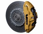 4x Skoda VRS Bremssattel Aufkleber