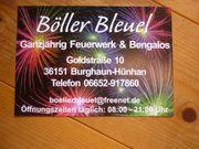 Feuerwerk für verschiedene Anlässe 2021