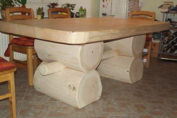 Massiver Douglasie Tisch Rustikal Esstisch