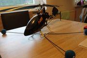 Hubschrauber T-Rex 450 Flybarlesssystem