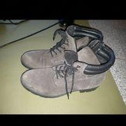 Braune Echt Leder Schuhe von