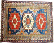Sammlerteppich Kazak 220x177 antik T027