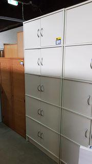 Büroschrank Wäscheschrank 85x218x42 4 mal
