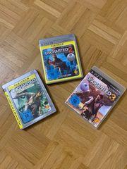 PSP- PS3- und PS4 Spiele