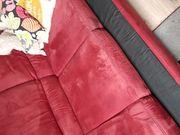Couch Garnitur groß 2-Teile intensives