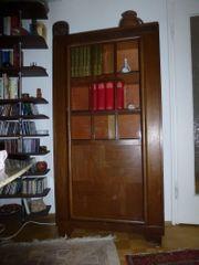 Vitrinen-Bücherschrank