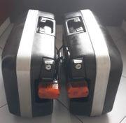 KRAUSER-Motorradkoffer Set mit Montageträger