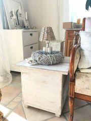 Landhaus Couch-Tisch Wohnzimmer-Tisch Beistelltisch Shabby