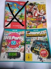2x Wiiu spiele 1x Wii