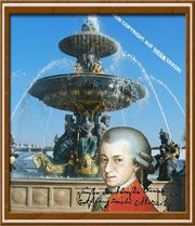 Mozart in Paris Souvenir Geschenk