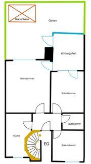 EG 3 Zimmer Wohnung Hobbykeller