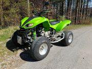 Kawasaki KFX 700 Quad mit