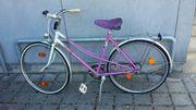 altes mädchen fahrrad