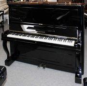 Klavier Bechstein 136 schwarz poliert