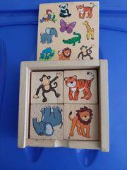 Kinderspiel Memo aus Holz
