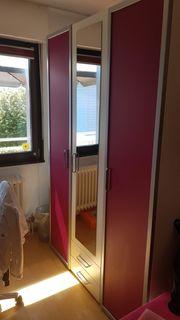 Jugendzimmer von Wellemöbel Weiss- Pink