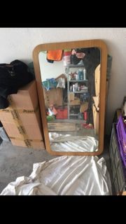 Spiegel Holzrahmen