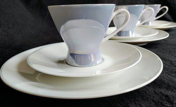 Rosenthal Form 2000 Kaffeegedecke Flieder