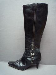 Sexy High-Heel-Stiefel mit Schnalle - Gr 36