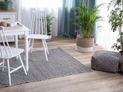Outdoor Teppich schwarz weiß 160