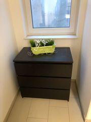 Kommode Malm IKEA schwarzbraun 3