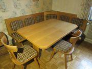 Eckbank Tisch 2 Stühlema