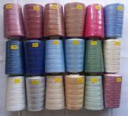 18 verschiedene Farben Garn Cotty